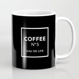 Black Coffee No5 Coffee Mug