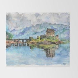 Eilean Donan Castle Throw Blanket