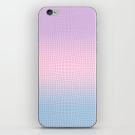 GINGHAM ILLUSION iPhone Skin