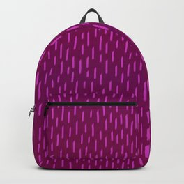 Magenta Dash Backpack