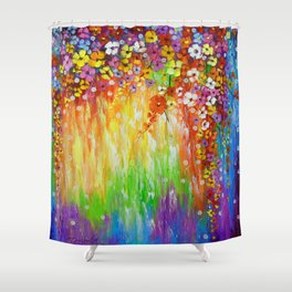 Melody of colors Shower Curtain