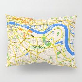 London Map design Pillow Sham