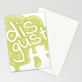 Disgust Stationery Cards