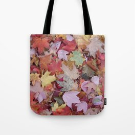 red maple medley Tote Bag