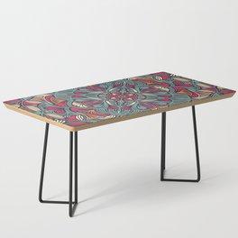 Colorful Mandala Pattern 014 Coffee Table