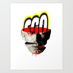 Ego trip · Enjoy yourself (white version) Art Print