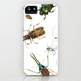Bug Life - Beetles - Bugs - Insects - Colorful - Insect Pattern iPhone Case