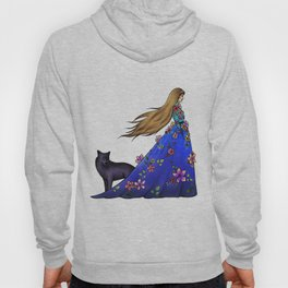 Followed by the black dog - colored Hoody