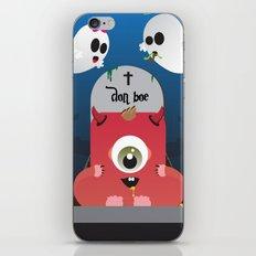 Don Boe iPhone & iPod Skin