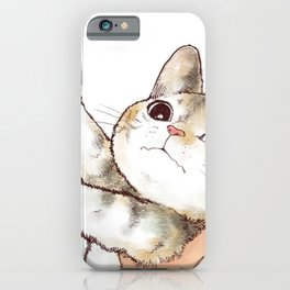 Kiss cute cat 2 iPhone Case