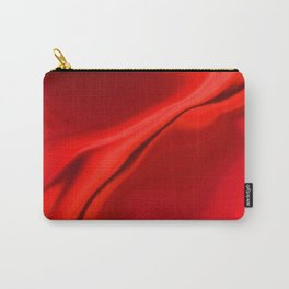 Smooth Red Design Carry-All Pouch