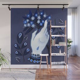 Forget Me Nots Wall Mural