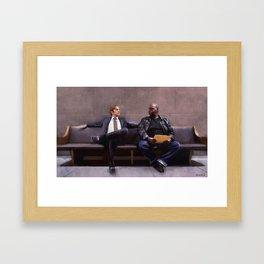 Jimmy McGill and Huell Babineaux - Better Call Saul Framed Art Print