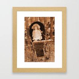 Vintage Doll Framed Art Print