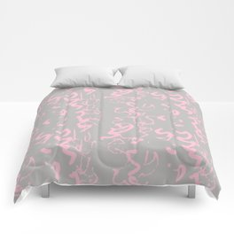 wiggly squiggle Comforters