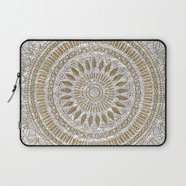 Elegant hand drawn tribal mandala design Laptop Sleeve
