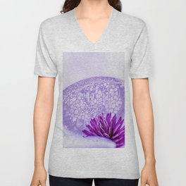 Micrograph Infusion Unisex V-Neck