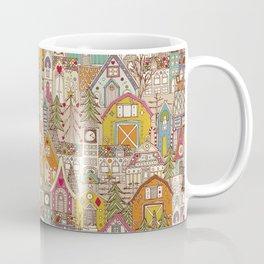 vintage gingerbread town Coffee Mug