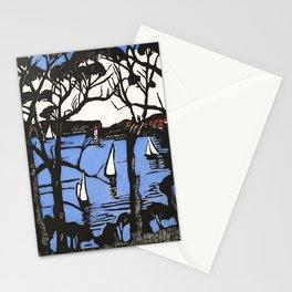 """Sidney Heads"" by Margaret Preston Stationery Cards"