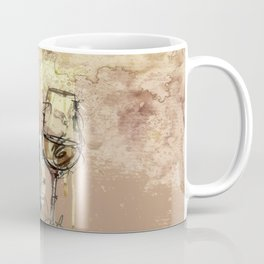 Spilt Wine Coffee Mug