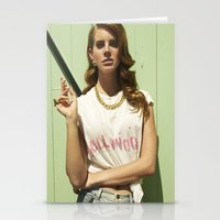 hollywood Stationery Cards featuring Hollywood by Michelle Rosario