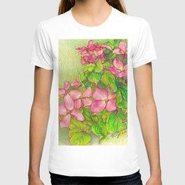 Satomi Dogwood, Pencil Sketch T-shirt