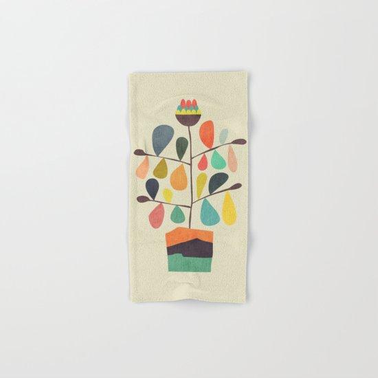 Potted Plant 4 Hand & Bath Towel