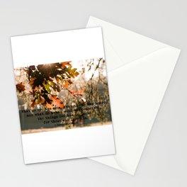 1 Corinthians two nine #bibleverse #inspirational Stationery Cards