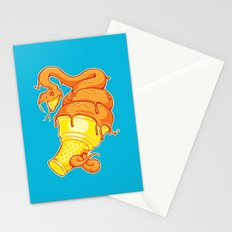 Snake Cone Stationery Cards