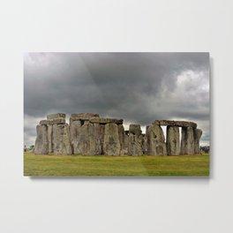Stonehenge Wiltshire England UK Metal Print