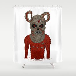 Executioner Shower Curtain