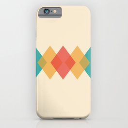 Rhombus iPhone Case