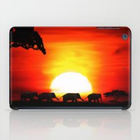 africa iPad Cases featuring Africa by Selina Morgan