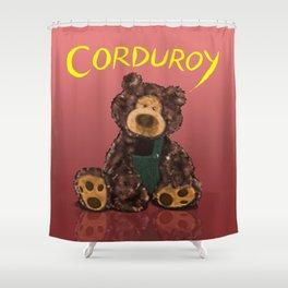 Corduroy Shower Curtain