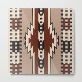 American Native Pattern No. 173 Metal Print