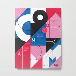 TSS 003: Color & Form Metal Print