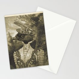 Mrs.Bird - Art collage sheets Stationery Cards