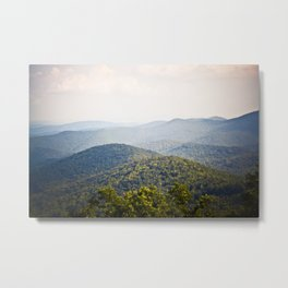 Blue Ridge Metal Print
