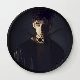Dark Troye Wall Clock