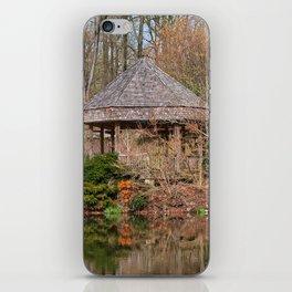 Brookside Bridge & Gazebo iPhone Skin