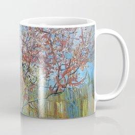 Vincent Van Gogh - Peach Tree in Bloom (In Memory of Mauve) Coffee Mug