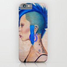 Blue Mohawk iPhone 6s Slim Case