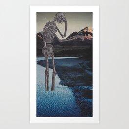 Ponder Art Print