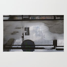 Grid Iron Reflection Rug