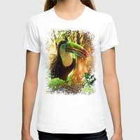 toucan T-shirts featuring Toucan by MG-Studio