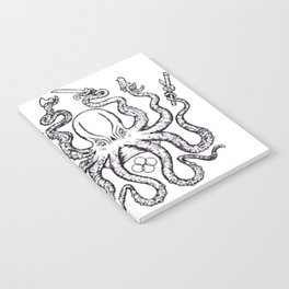 Fight lab Octopus Notebook