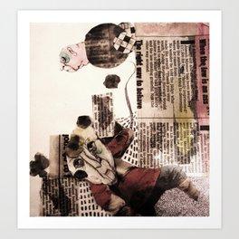 Bric à Brac Art Print