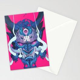 Oni Mask 01 Stationery Cards