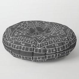 Sigillum Dei Aemeth Floor Pillow