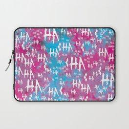 Harley Quinn: HA HA HA [Alternate] Laptop Sleeve